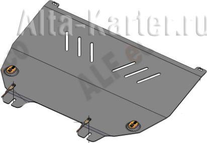 Защита Alfeco для картера и КПП Peugeot 307 2001-2008. Артикул ALF.17.42st