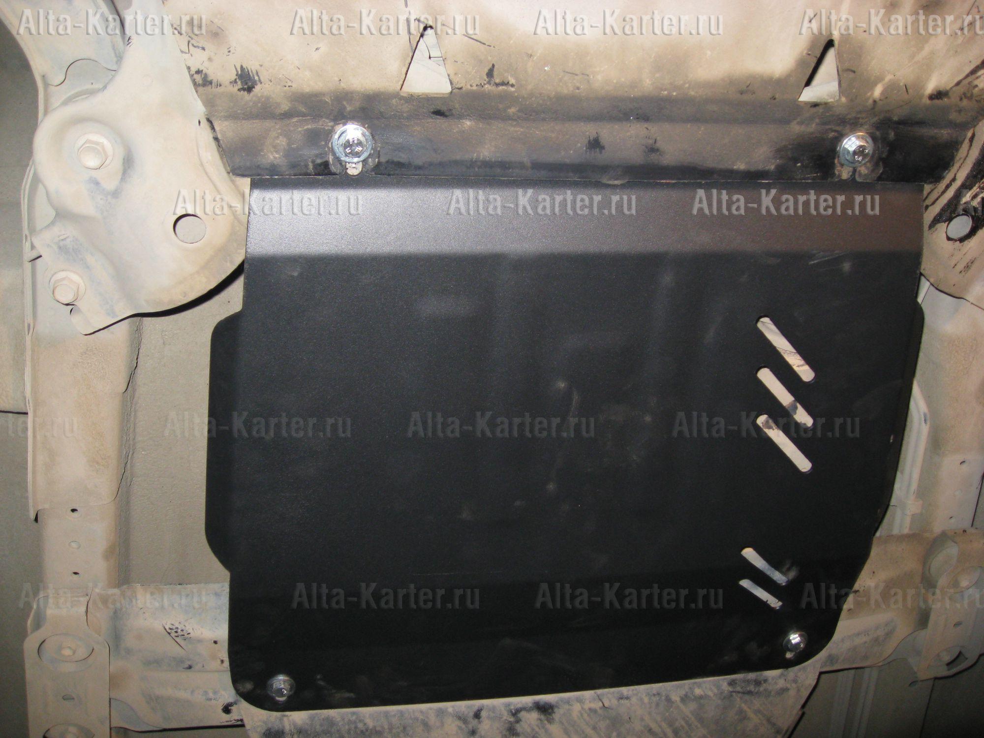 Защита Alfeco для КПП Suzuki Grand Vitara II 2005-2015. Артикул ALF.23.02