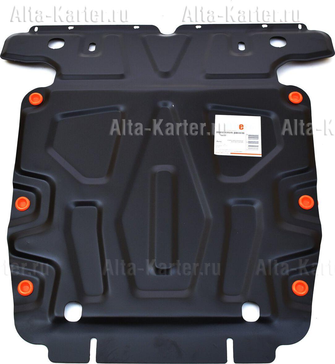 Защита Alfeco для картера Porsche Cayenne II 2010-2017. Артикул ALF.50.01 st