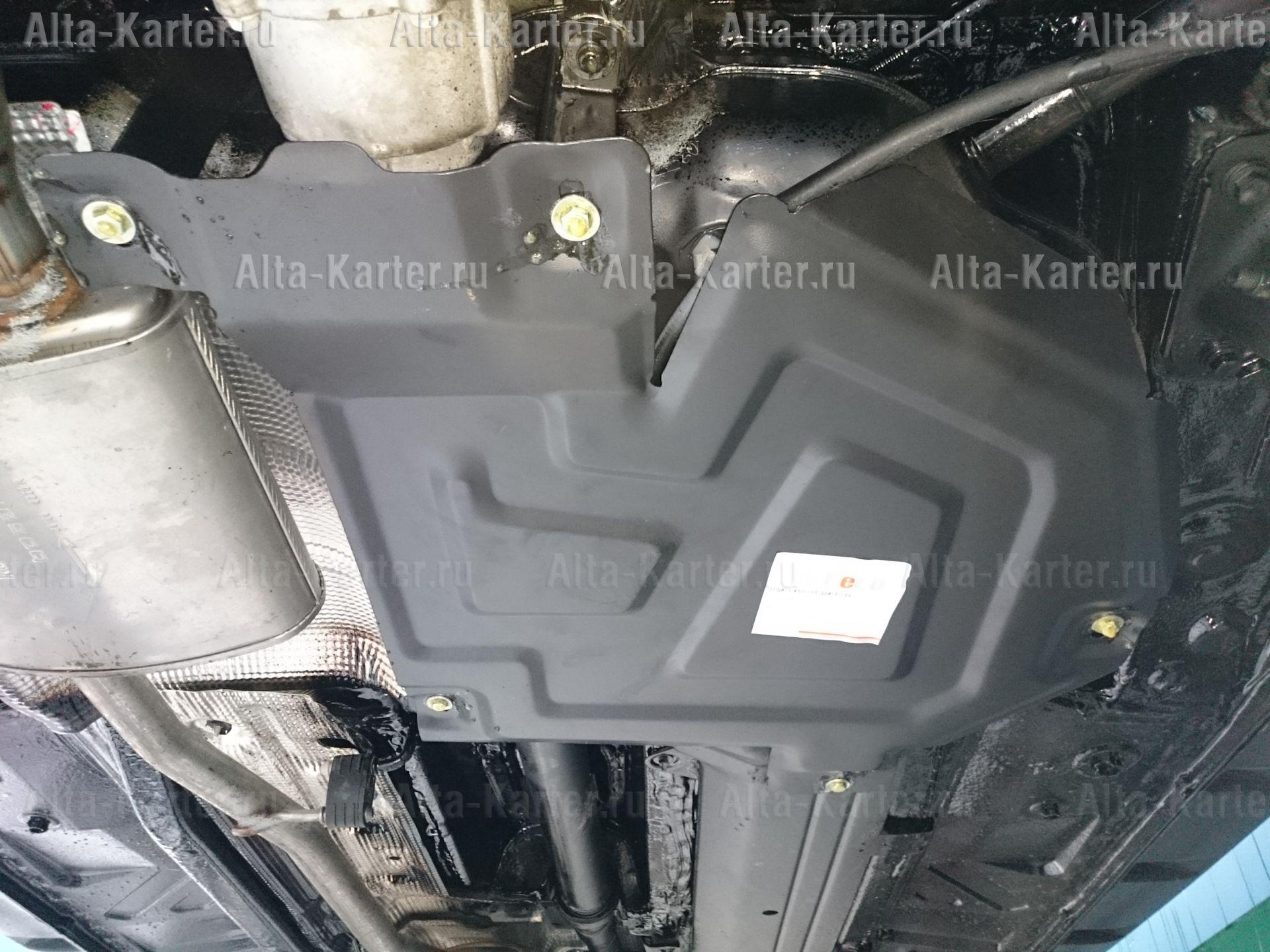 Защита Alfeco для топливного бака Nissan Terrano 4WD 2014-2021. Артикул ALF.18.05 st