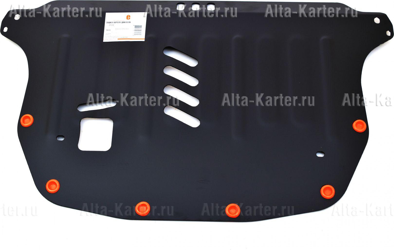 Защита Alfeco для картера и КПП Honda Civic VIII седан 2006-2011. Артикул ALF.09.04
