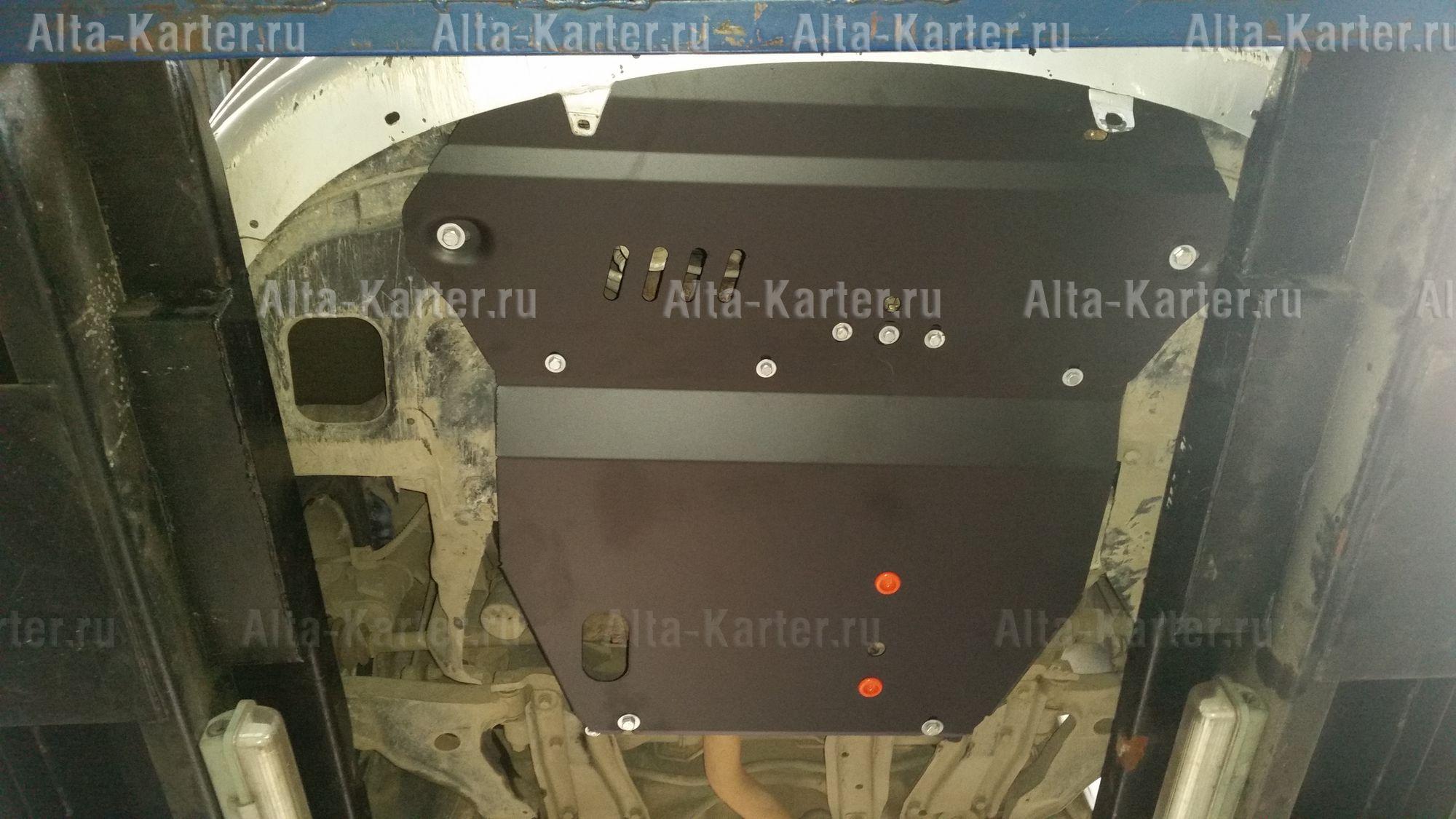 Защита Alfeco для картера и КПП Mitsubishi Eclipse III 2000-2005. Артикул ALF.14.53