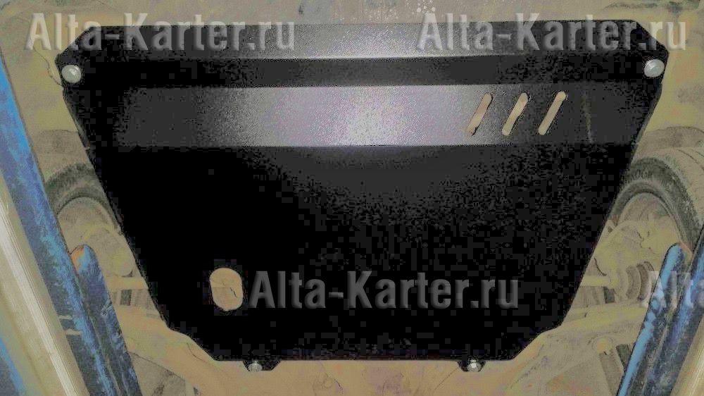 Защита Alfeco для картера и КПП Toyota Raum I 2WD 1997-2003. Артикул ALF.24.103