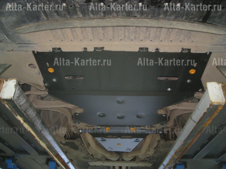 Защита Alfeco для картера и КПП Audi A8 D5 2017-2021. Артикул ALF.30.46