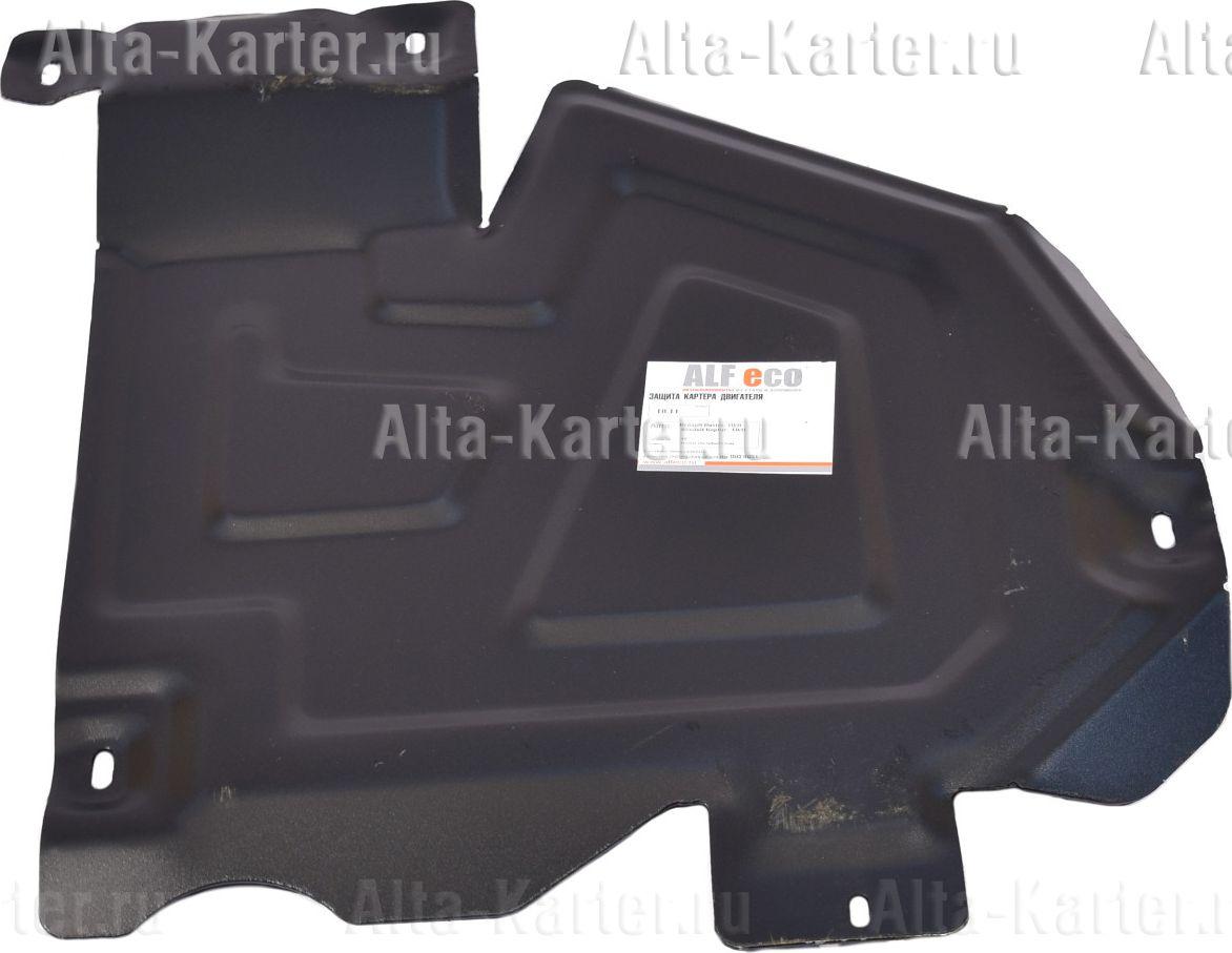 Защита Alfeco для топливного бака Renault Duster I рестайлинг 4WD 2015-2021. Артикул ALF.18.11st