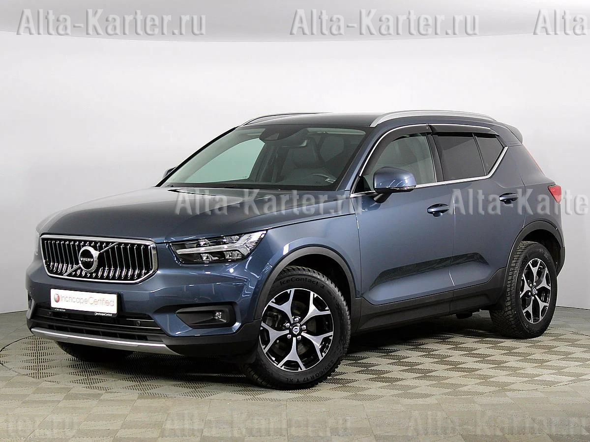 Дефлекторы Cobra Tuning для окон (c хром. молдингом) Volvo XC40 2018 по наст. вр.. Артикул V12618CR