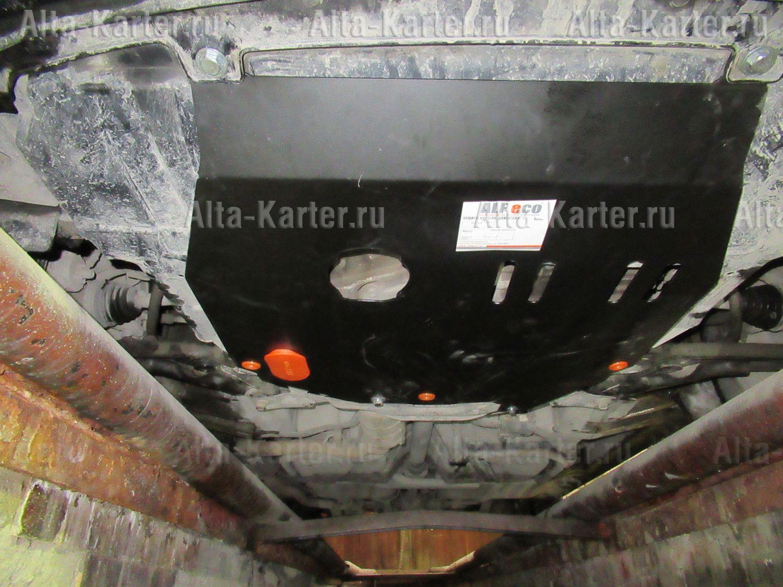 Защита Alfeco для картера и КПП Honda Airwave 2004-2008. Артикул ALF.09.40