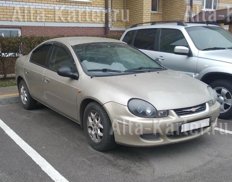 Дефлекторы Cobra Tuning для окон Chrysler Neon II 1999-2005. Артикул D20299