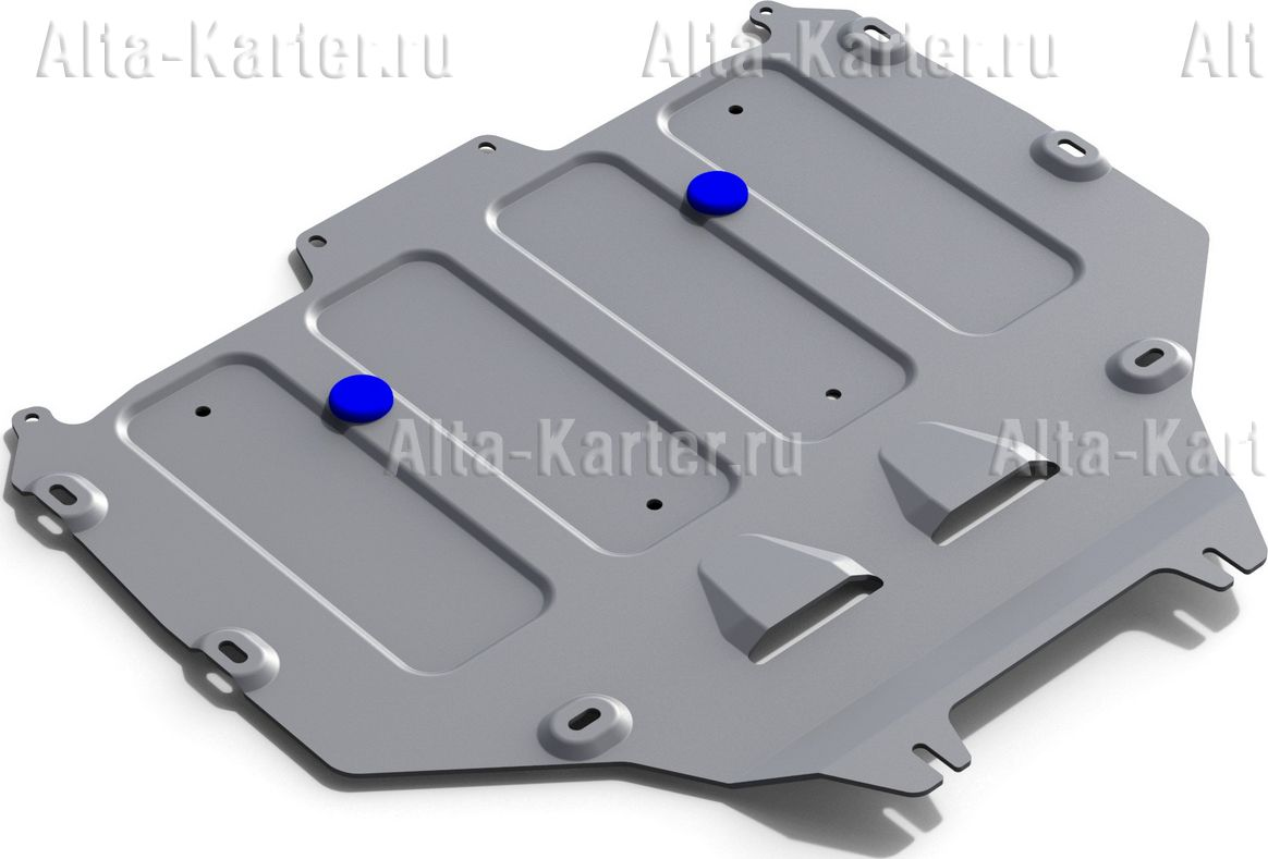 Защита алюминиевая Rival для КПП Bentley Bentayga 2016-2021. Артикул 333.0402.1