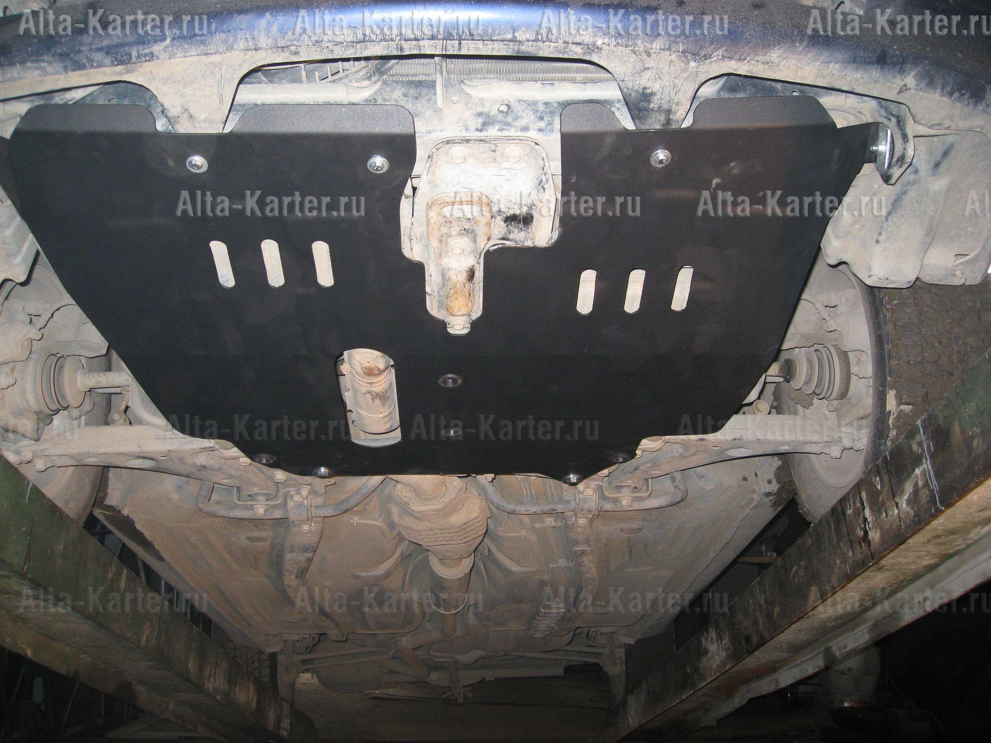 Защита Alfeco для картера и КПП Toyota Corolla Spacio E110 1997-2001. Артикул ALF.24.32