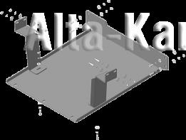 Защита Мотодор для радиатор Камаз 65115 6x4 Cummins 2007-2021. Артикул 27705
