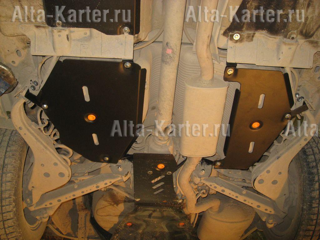 Защита Alfeco для топливного бака Renault Koleos II 2016-2021. Артикул ALF.15.43