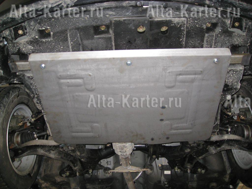 Защита Alfeco для картера и КПП Haima 3 2010-2013. Артикул ALF.45.01