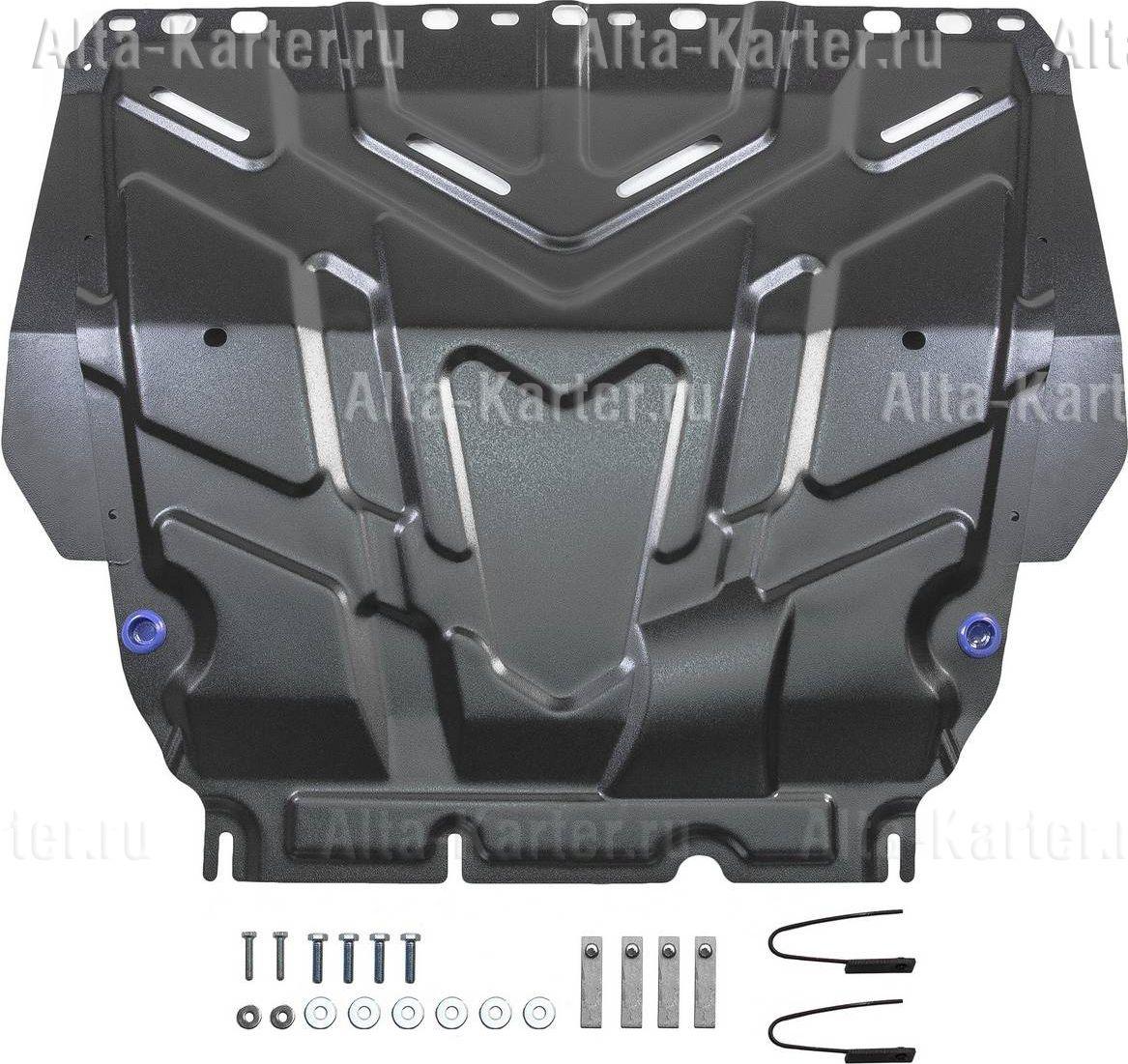 Защита Rival для картера и КПП Ford C-Max I 2003-2010. Артикул 111.1850.1