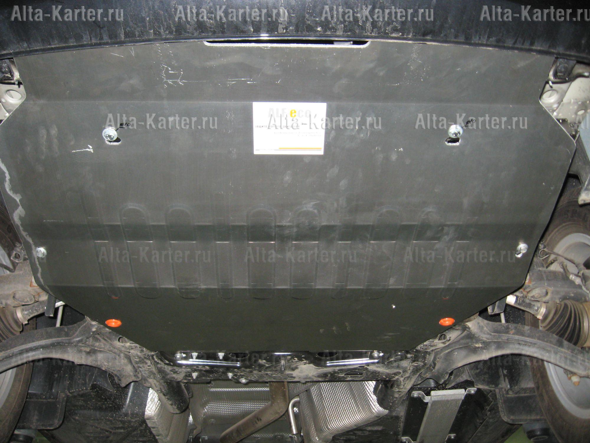 Защита Alfeco для картера и КПП Volkswagen Transporter T5 4Motion 2003-2015. Артикул ALF.26.23
