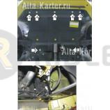 Защита Мотодор для двигателя, КПП Alfa Romeo Mito 2008-2021. Артикул 05904