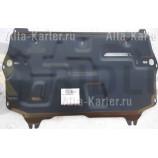 Защита Alfeco для картера и КПП Seat Ibiza III 2002-2008. Артикул ALF.20.19st