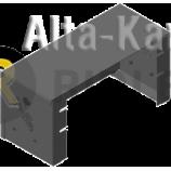 Защита Мотодор для аккумулятора Foton BJ 1039 2012-2021. Артикул 27501