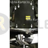 Защита алюминиевая Мотодор для КПП Hummer H3 2007-2010. Артикул 35701