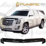 Дефлектор СА Пластик для капота (Classic черный) Cadillac Escalade ESV 2014 по наст. вр.. Артикул 2010010111731