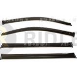Дефлекторы Cobra Tuning для окон (хромированный молдинг) Cadillac Escalade IV 2014 по наст. вр.. Артикул C11215CR