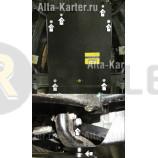 Защита Мотодор для КПП Hummer H3 2007-2010. Артикул 15701