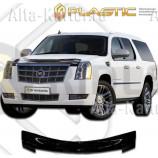 Дефлектор СА Пластик для капота (Classic черный) Cadillac Escalade 2007 по наст. вр.. Артикул 2010010102395
