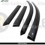 Дефлекторы Cobra Tuning для окон GAC GN8 2020 по наст. вр.. Артикул G40220