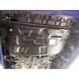 Защита Alfeco для картера и КПП Seat Ibiza III 2002-2008. Артикул ALF.20.19.2