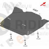 Защита алюминиевая Alfeco для картера Chrysler 300C I 2005-2007. Артикул ALF.33.03 AL5