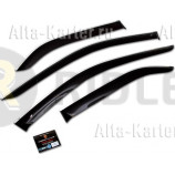 Дефлекторы Cobra Tuning (с хром. молдингом) для окон GAC GS8 I 2016 по наст. вр.. Артикул G40416CR