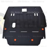 Защита Alfeco для картера и КПП Chrysler Sebring II 2001-2006. Артикул ALF.25.01