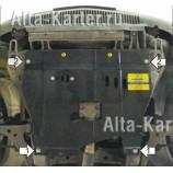 Защита Мотодор для двигателя, КПП Alfa Romeo 166 1998-2003. Артикул 05901