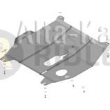 Защита Мотодор усиленная для картера и КПП Ravon Nexia R3 2015-2021. Артикул 68101