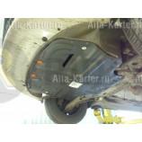 Защита Alfeco для картера и КПП Seat Altea 2004-2015. Артикул ALF.20.12 st