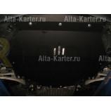 Защита Alfeco для картера и КПП Acura MDX III 2014-2021. Артикул ALF.51.01