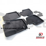 3D Коврики Euromat3D EVA В Салон Для SKODA Rapid (2014-) № EM3DEVA-004508