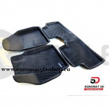 3D Коврики Euromat3D EVA В Салон Для Toyota Auris (2007-2012) № EM3DEVA-005107