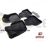 3D Коврики Euromat3D EVA В Салон Для SKODA Superb (2009-2014) № EM3DEVA-004509