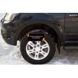 Накладки на колёсные арки (передний левый) Great Wall Hover H3 2010-2013
