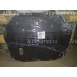 Защита алюминиевая Alfeco для картера и КПП Jac S3 2014-2021. Артикул ALF.56.01 AL4