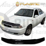 Дефлектор СА Пластик для капота (Classic черный) Daewoo Nexia   1995-2008. Артикул 2010010102753