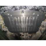 Защита алюминиевая Alfeco для картера и МКПП Alfa Romeo 156 1997-2005. Артикул ALF.42.01 AL5
