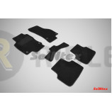 Ворсовые коврики LUX для Seat Leon III 2013 по наст. вр.