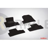 Ворсовые коврики LUX для Honda CR-V III 2006-2012