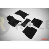 Ворсовые коврики LUX для Subaru Forester II 2002-2008