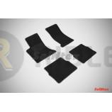Ворсовые коврики LUX для Cadillac SRX 2004-2010