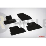 Ворсовые коврики LUX для Honda Civic VIII Hatchback 2006-2012