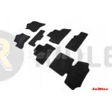 Ворсовые коврики LUX для Cadillac Escalade IV 2014 по наст. вр.