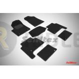 Ворсовые коврики LUX для Infiniti QX56/QX80 2014 по наст. вр.